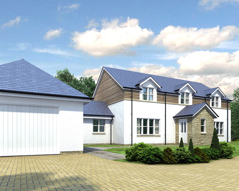 plot 1 church brae